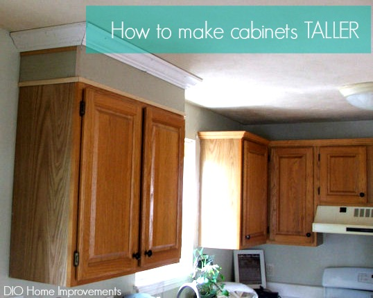 Making Cabinets Taller - DIO Home Improvements