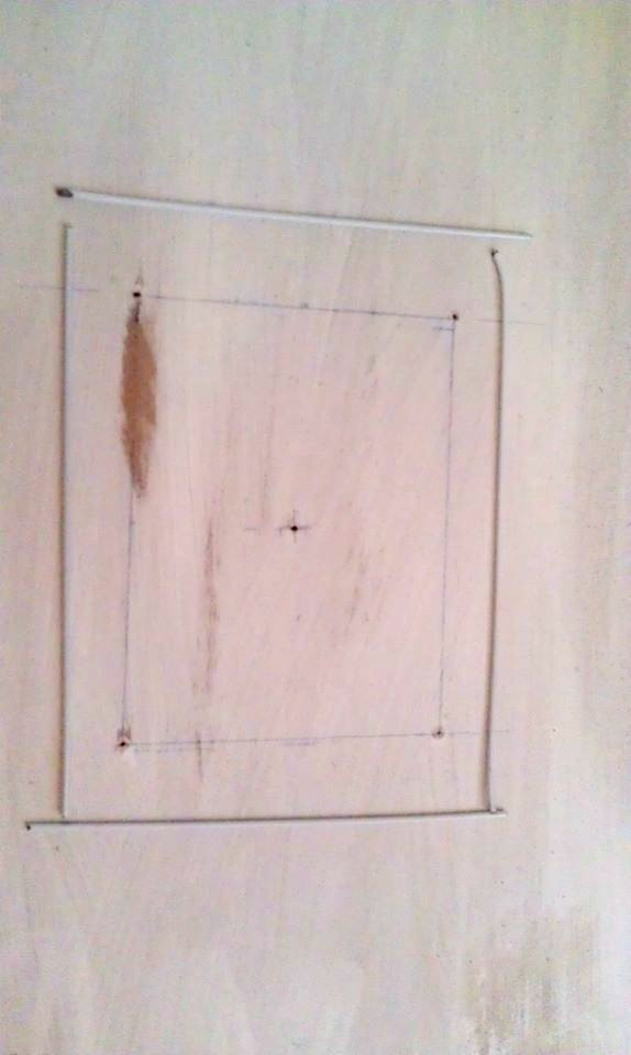 Diy wall clock dio home improvements for Attach wire to wall
