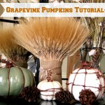 Grapevine Pumpkins Tutorial