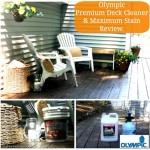 Olympic Premium Deck Cleaner & Maximum Stain #uptothetest