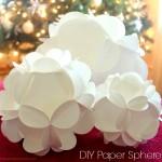 DIY Paper Spheres
