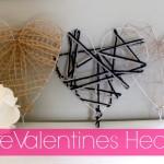 DIY Wire Valentines Hearts