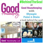 A look #BehindTheSeal with Olympic Paint & Stain at Good Housekeeping Research Institute #PPGsponsored