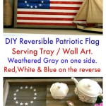 DIY Reversible Flag Tray/Wall Art