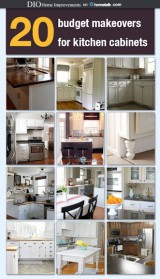 Budget Kitchen Cabinet Makeovers
